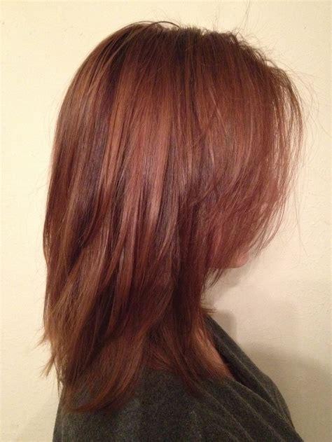 auburn hair color with highlights auburn hair with highlights and lowlights yahoo image