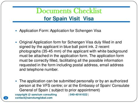 Invitation Letter Sle For Spain Visa Spain Visit Visa Sanctum Consulting