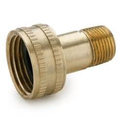 Garden Hose Couplers 3 4 Quot Fght X 3 8 Quot Mpt Swivel Connector Brass Garden Hose