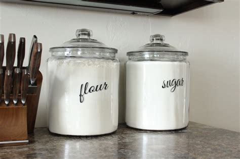 what to put in kitchen canisters new kitchen canisters the wood grain cottage