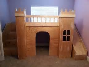 castle bed white princess castle loft bed diy projects