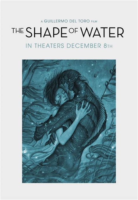 the shape of water movie large poster