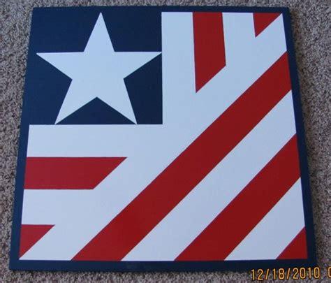 American Quilt Custom Barn Quilt 2 X2 American Flag