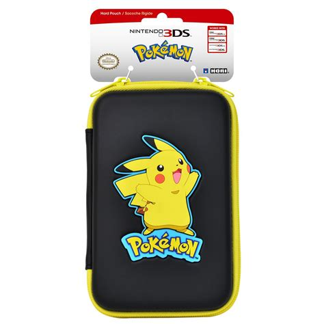 Hori New Nintendo 2ds Xl Pouch Black List Turquoise Blue images revealed for the officially licensed hori pikachu
