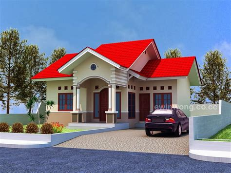 desain rumah vintage modern plan type 70 modern minimalist house beautiful