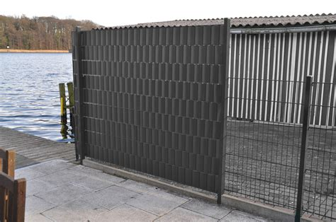 Was Kostet Ein Zaun 1035 by 7m 178 Pvc Sichtschutz Grau Windschutz Zaunblende L 228 Rmschutz