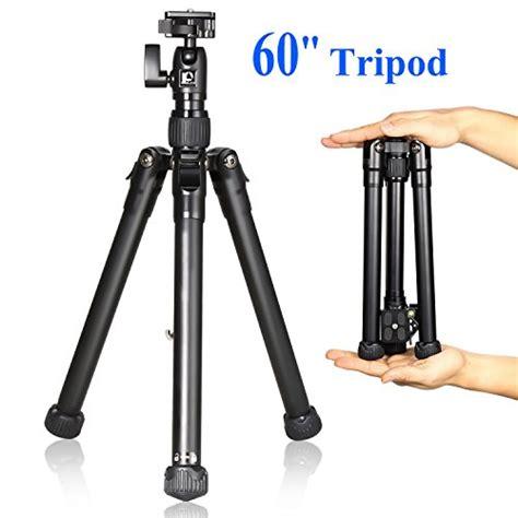 Tripod Hp Sony noeler travel tripod 60 quot aluminium lightweight portable tripod stand for dslr digital