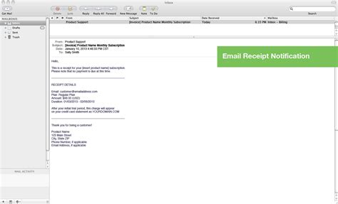 receipt email template stripe stripe email receipts for recurring payments by
