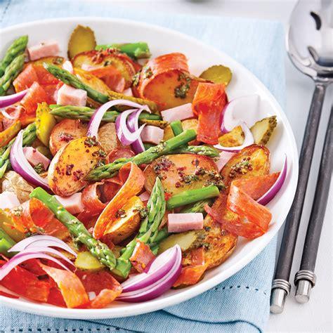 recette cuisine gourmande salade gourmande de pommes de terre r 244 ties recettes