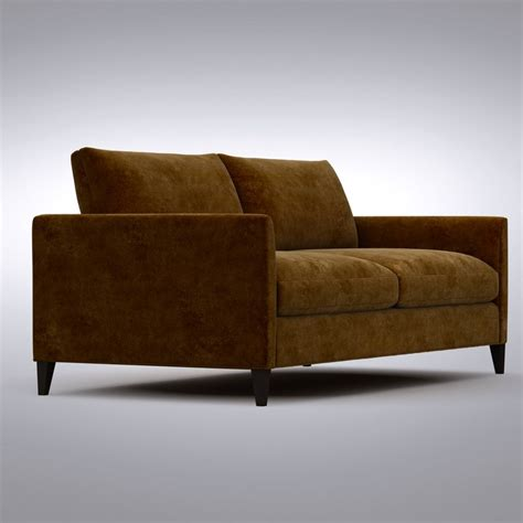 crate and barrel klyne sectional 3d max crate barrel klyne