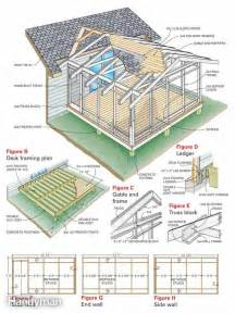 Porch Plans Screen Porch Construction The Family Handyman