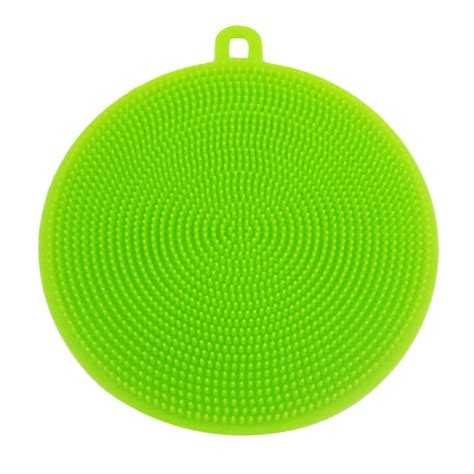 List Sponge Silicone 15x20 Mm silicone dish washing sponge scrubbers practical washing kitchen tools gt ebay