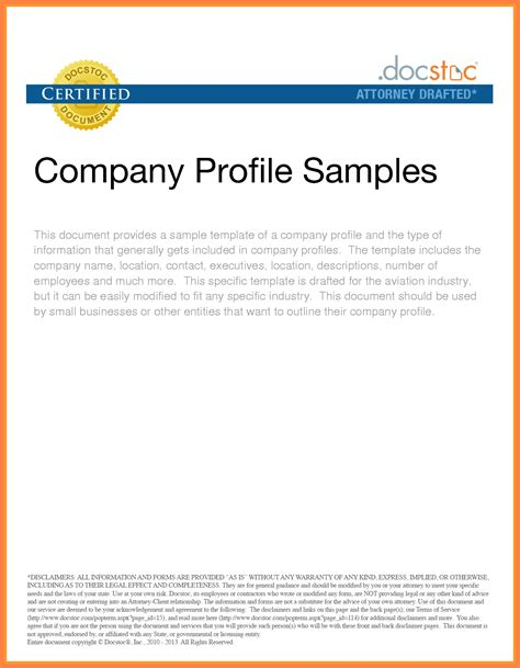 company profile layout software template free company profile sle company profile sle