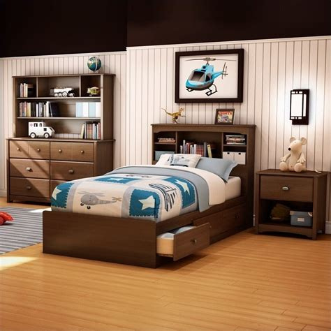 kids twin bedroom set south shore nathan kids twin mates bed 3 piece bedroom set