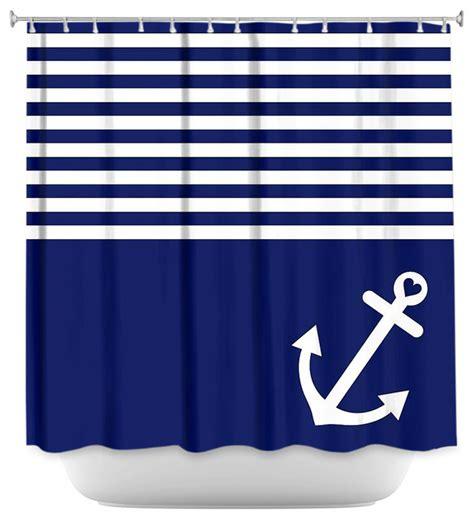 nautical anchor shower curtain shower curtain artistic navy blue love anchor nautical