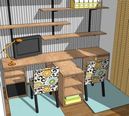 diy home office desk plans how to build a simple computer desk woodworking projects plans