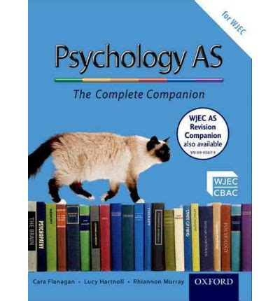 the psychology companion palgrave student companions series books the complete companions as student book for wjec