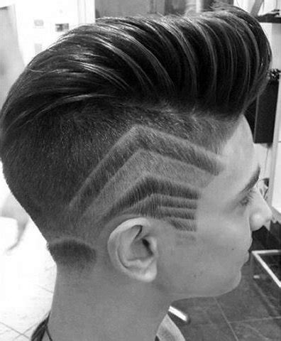 hair styles for men with line shaved top 75 best trendy hairstyles for men modern manly cuts