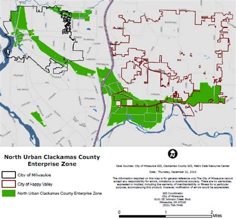 clackamas county tax maps clackamas county enterprise zone city of