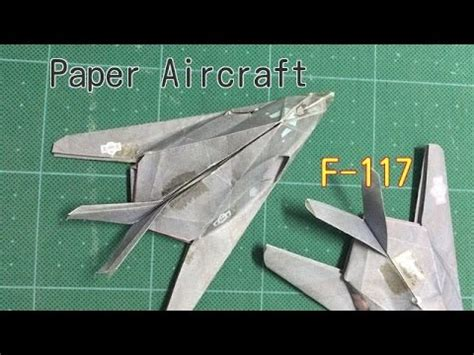 How To Make A Paper Nighthawk - origami paper aircraft 2 f 117