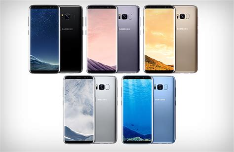 new colors the brilliant new samsung galaxy s8 colors gallery