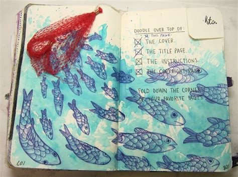 doodle book ideas doodle the top from wreck this journal smith