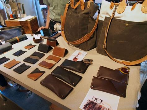 Handmade Goods Marketplace - handmade leather goods at dose market leather