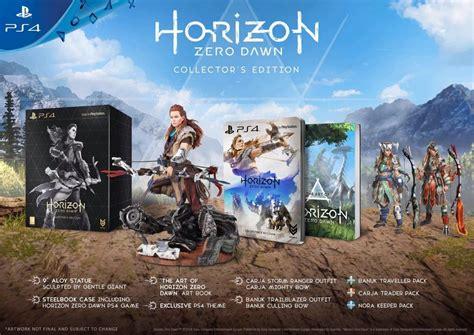 horizon zero dawn collectors 3869930810 take a look at horizon zero dawn s limited and collector s editions vg247