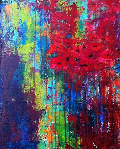 beautiful acrylic painting ideas 25 best ideas about bright abstract on
