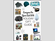 Everyone On Your List 2016- HOLIDAY GIFT GUIDE - Eat Beautiful 2016 Xmas Gift Guide