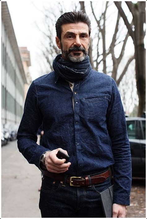 how a 40 year man should dress pics denim shirts for men 40 ways to do it in style
