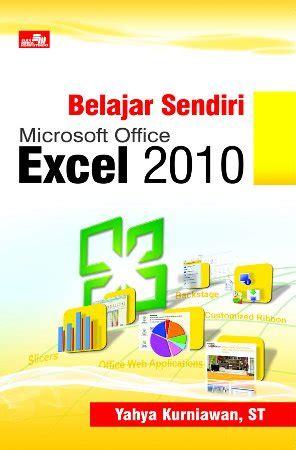 Buku Mahir Dalam 7 Hari Microsoft Excel 2010 buku oom yahya punya