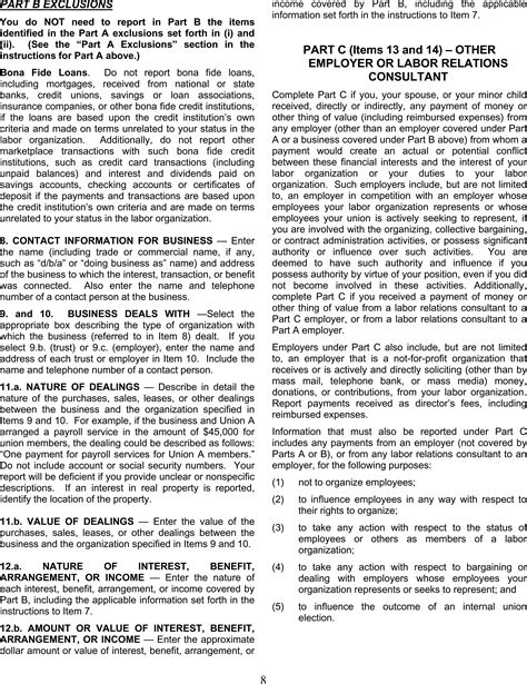 labor code section 202 federal register labor organization officer and employee