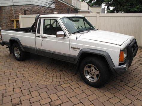 1988 jeep comanche white purchase used 1988 jeep comanche laredo standard cab