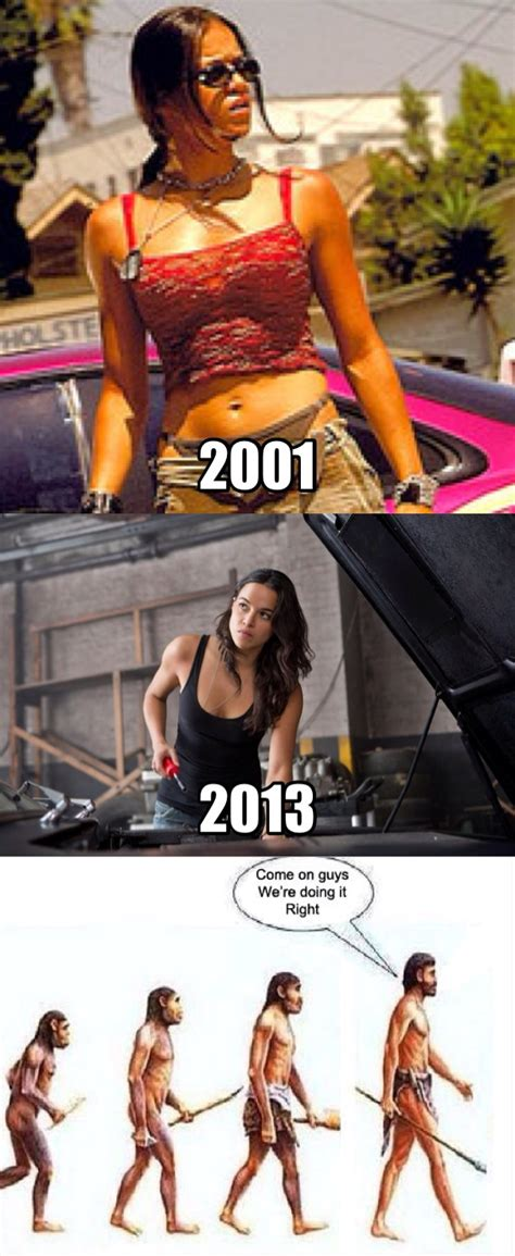 Fast Car Meme - you got to admit letty was ugly as h ll in the fast and
