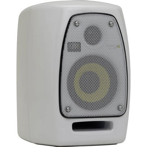 Krk Vxt 4 White krk vxt4 45w 4 quot two way active nearfield studio vxt4w b h