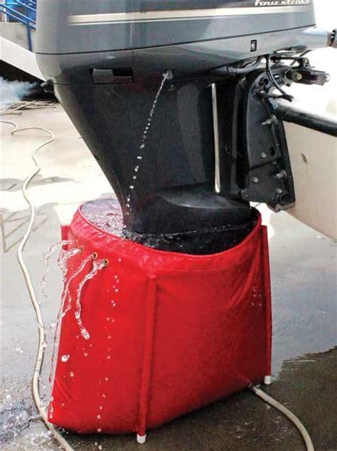 mercury outboard motor flushing attachment motor flushing rig
