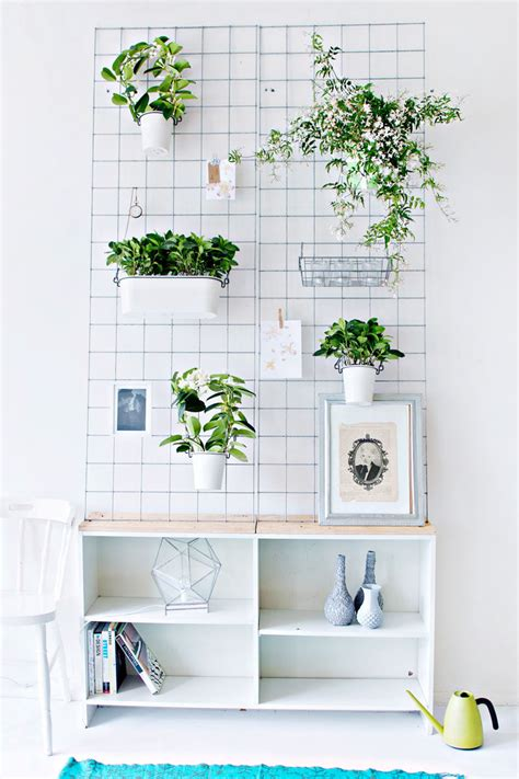 wall planters indoor ikea indoor garden idea hang your plants from the ceiling