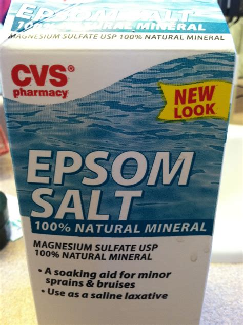 Magnesium Sulfate Detox by Cat S Mischief Epsom Salt
