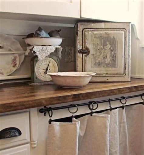 Kitchen Sink Curtain Ideas Plan De Travail Et Rideau Pour Cacher Le Lave Vaisselle Cuisine Kitchen