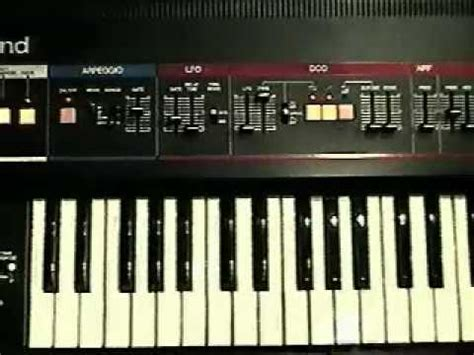 Keyboard Roland D5 roland juno 6 sync analog sequencer and arpeggiator