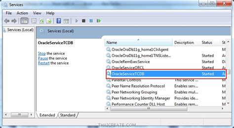 tutorial oracle database ตอนท 2 การสร าง database และ instance ใหม บน oracle