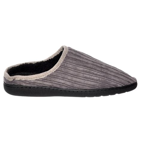 mens luxury slippers shoekandi mens luxury fur lined slip on mule slippers with