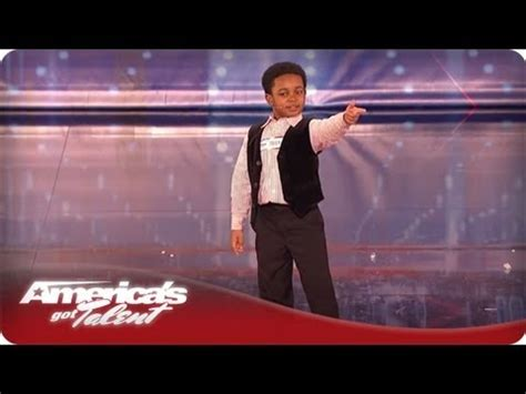 miles brown america s got talent this kid s got personality and he can sing and dance