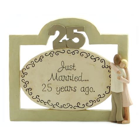 25th Anniversary Resin Plaque