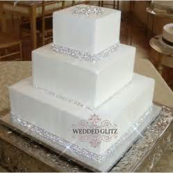 rhinestone cake cheap rhinestone cake banding reception project wedding forums