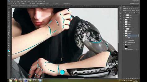 tutorial photoshop robot mpaolo tutoriais photoshop speed art cyborg assassin