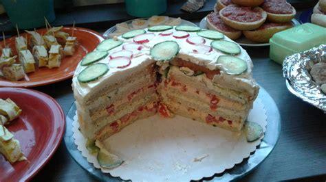 Herzhafte Kuchen Kalt