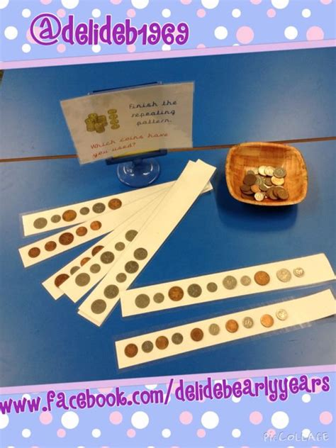 pattern ideas eyfs repeating patterns to continue with photocopied strips of