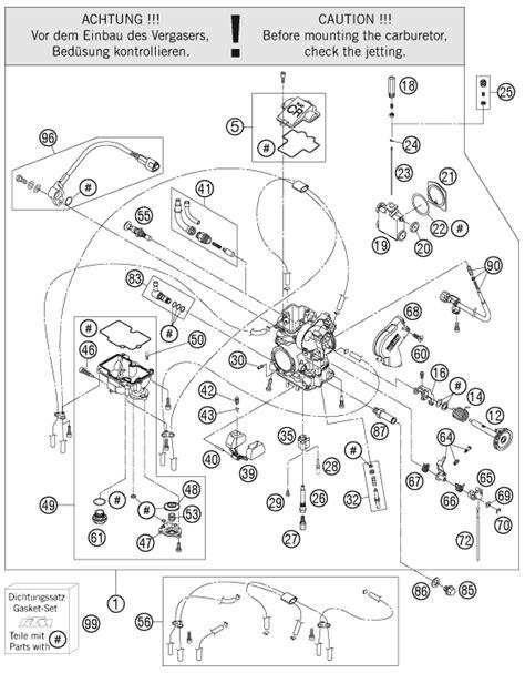 Katalog Spare Part Yamaha ktm fiche finder carburetor spare parts for the ktm 450